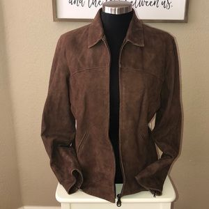 Facconable Leather Jacket Small